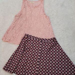 Tank and Skirt Set